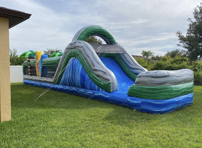 Groveland Wet Obstacle Course Rentals