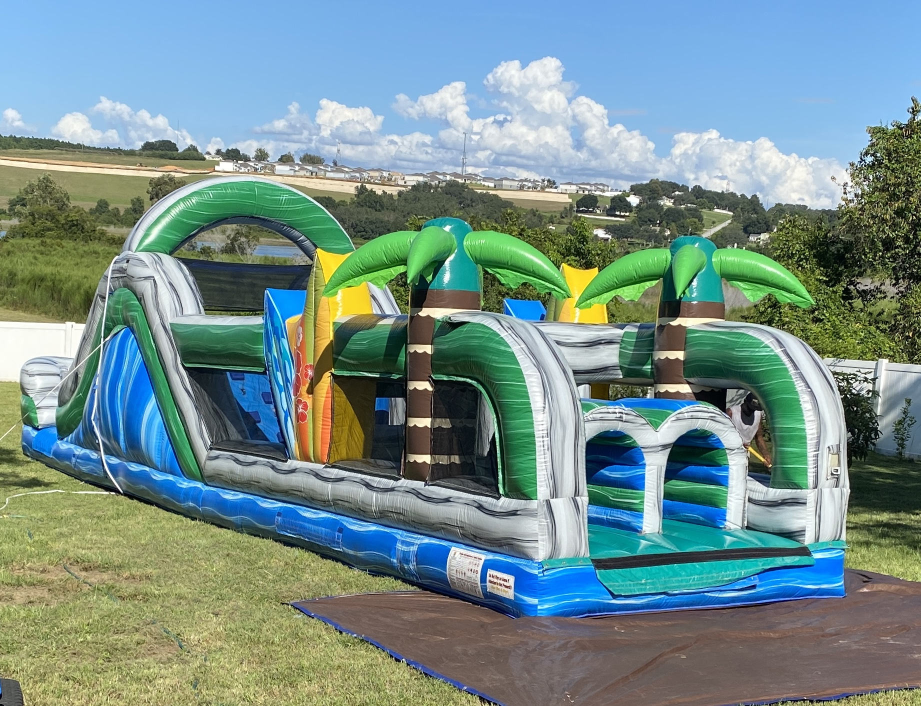Howey In The Hills Obstacle Course Rentals