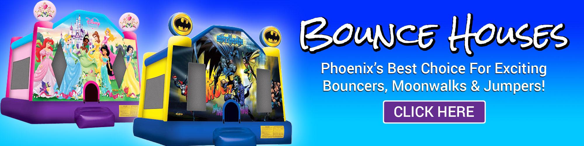 bounce house rentals Peoria AZ