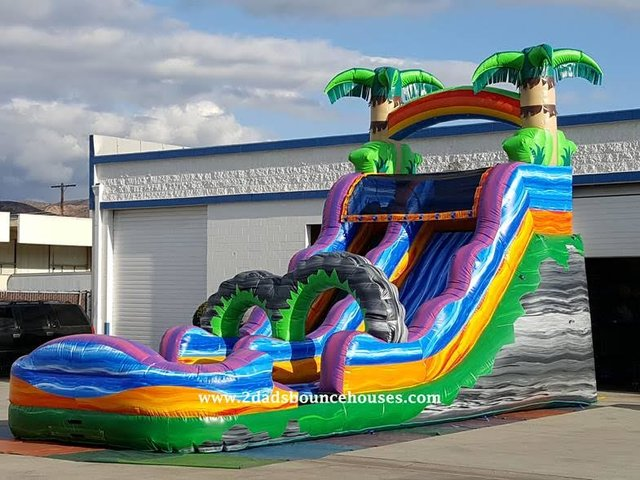 21' Tropical Storm Water Slide