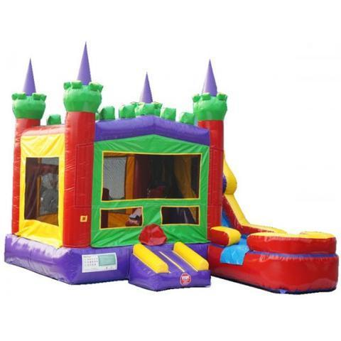 6in1 Majestic Castle Combo Water Slide