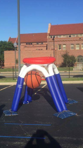 Giant Basketball Hoop Inflatable