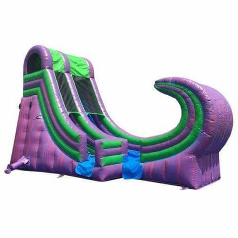 21' Riddlers Wave Water Slide
