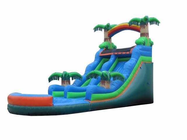 20' Tropical Water Slide