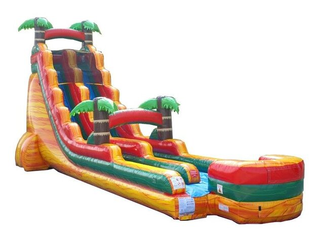 24' Tropical Crush Wet/Dry Slide