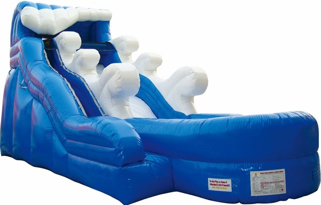 16' Wave Waterslide