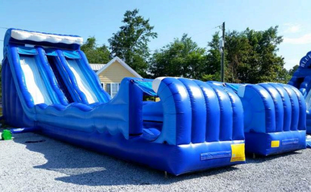 26' Double Lane Slip n Slide Combo