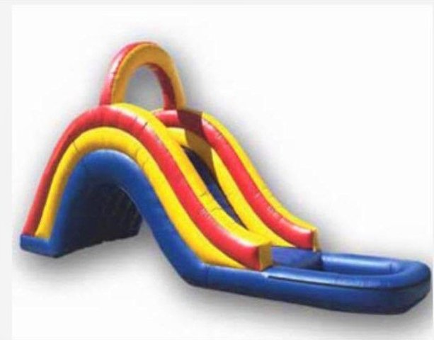 Multi - Colored Water Slide
