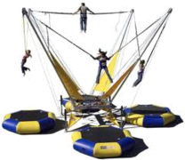 Euro Bungy Trampoline -  4 person