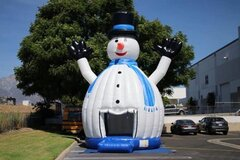SNOW MAN BOUNCER