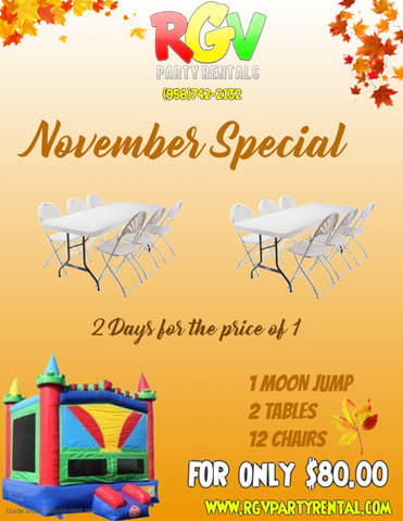 November Special Party Package