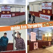 Mobile Axe Throwing