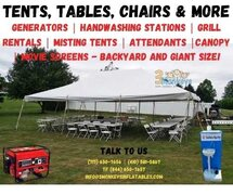 Tents Tables and More