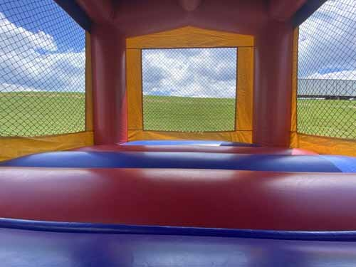 Inside of Dr Seuss Bounce House Rental Harrisburg PA