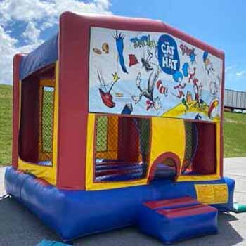 Dr Seuss Bounce House Rental Lancaster PA near me