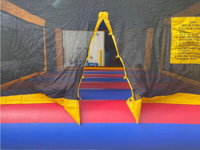 Entrance to the York Bounce House Rental
