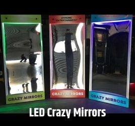 LED Crazy Mirrors near me