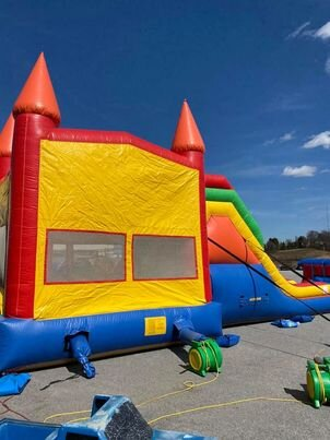 Majestic Combo Bouncer Rental in Lancaster PA