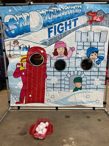 Snowball Fight Game Rental