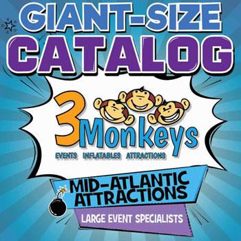 3 Monkeys Inflatables