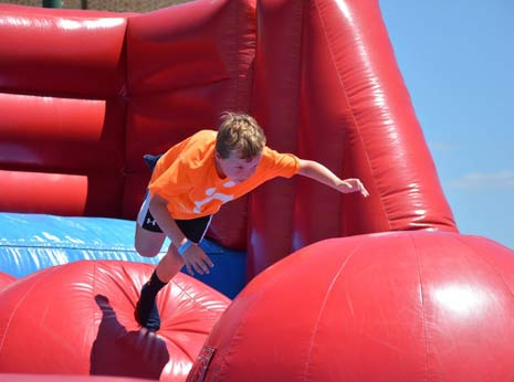 Big Red Baller Inflatable Game