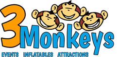 3 Monkeys Logo