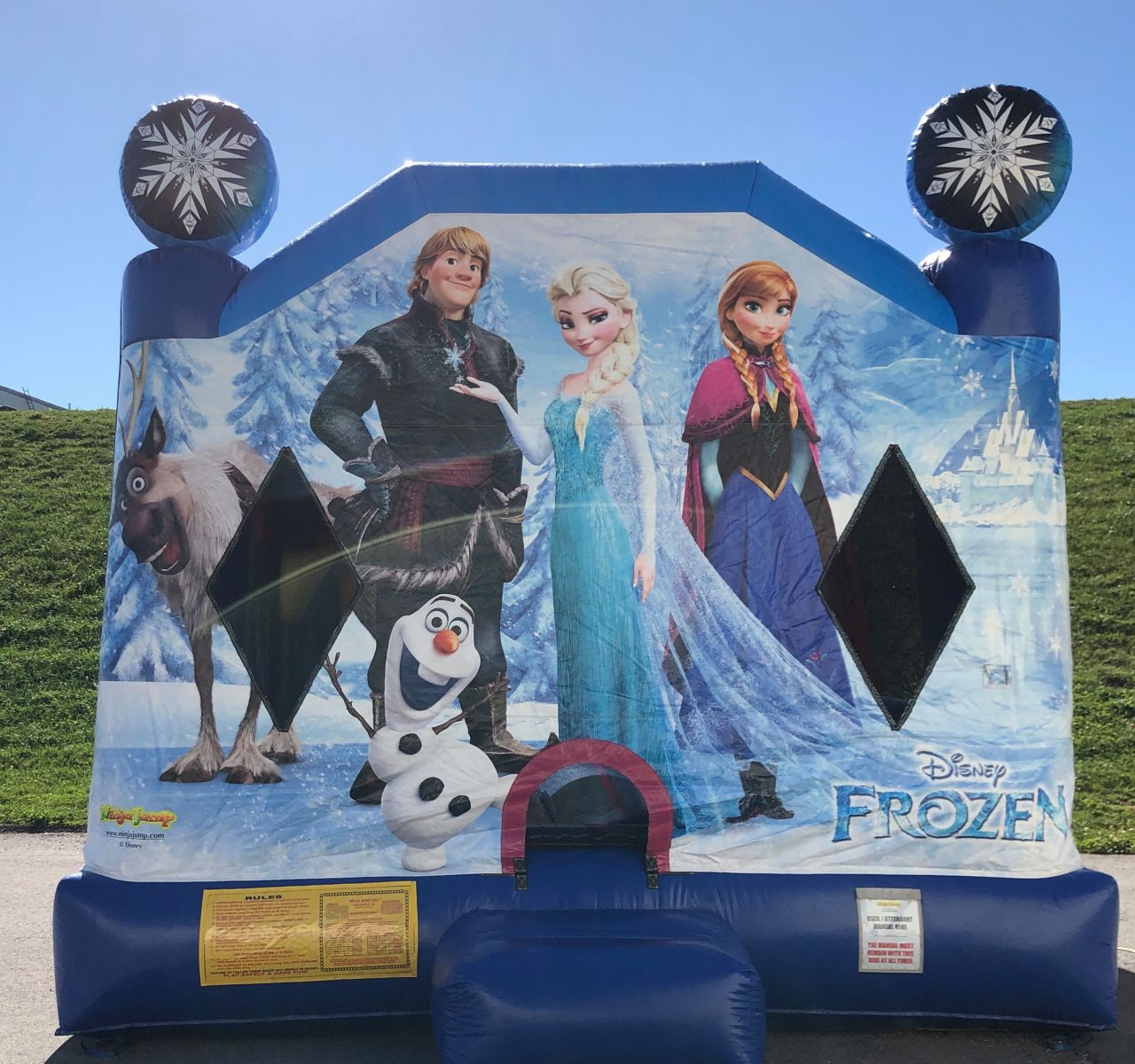 Disney Frozen Combo Bounce House serving York, Lancaster, Harrisburg