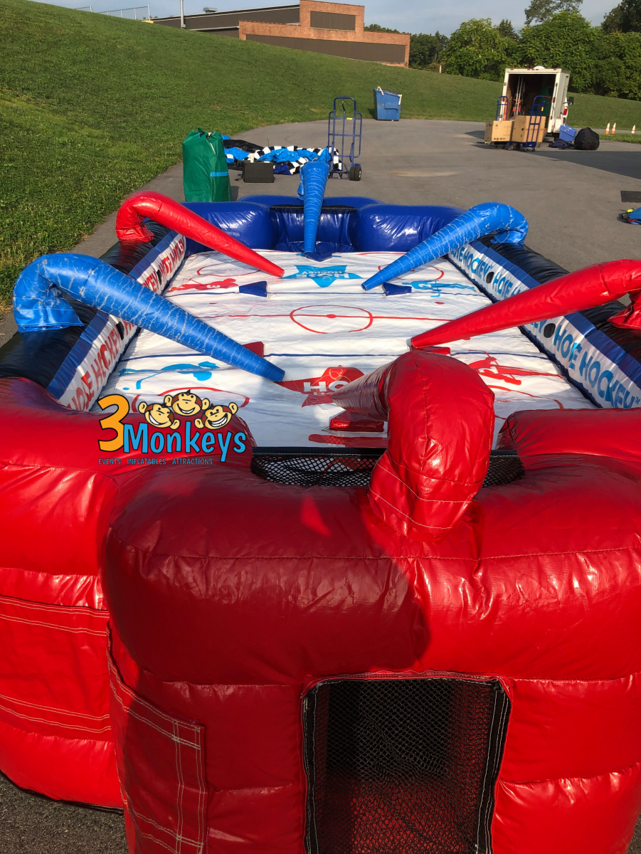 Hose Hockey Inflatable Game | 3monkeysinflatables.com