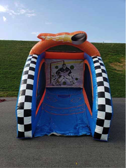 Ice Hockey Shootout Inflatable Game Rental