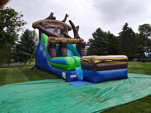 Rockin Rapids Water Slide Rental