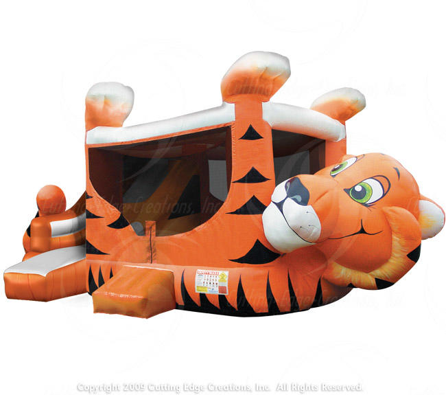 Tiger Belly Bounce Rental Front View