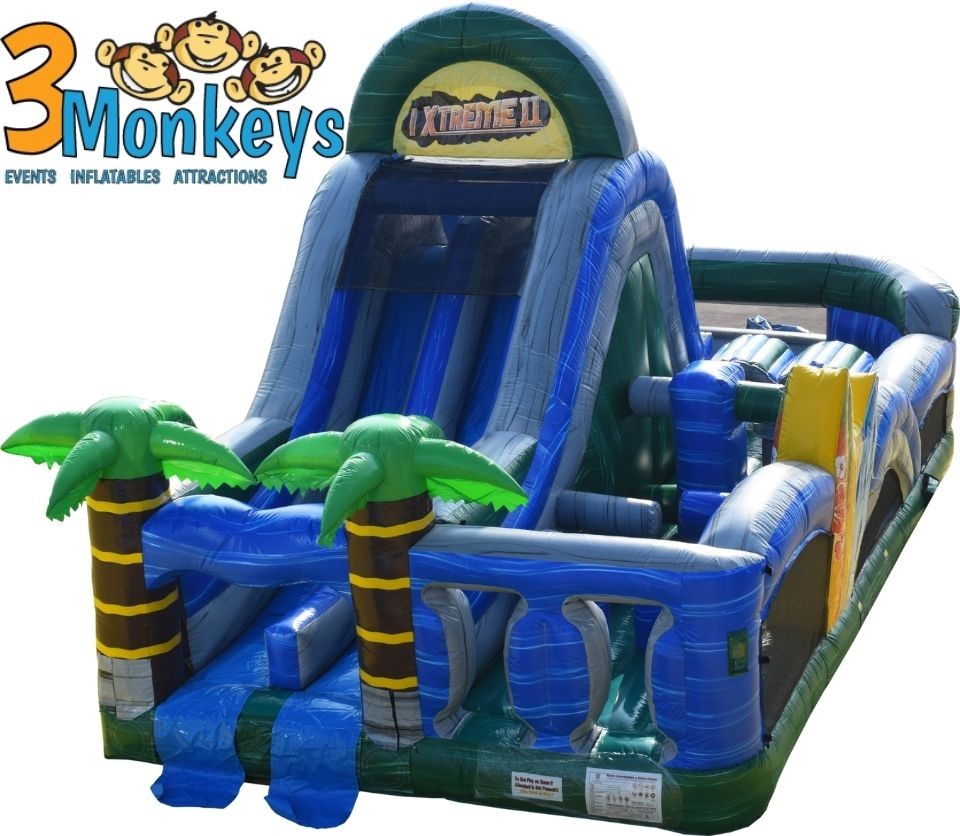 Tropical Obstacle Course Rental near me