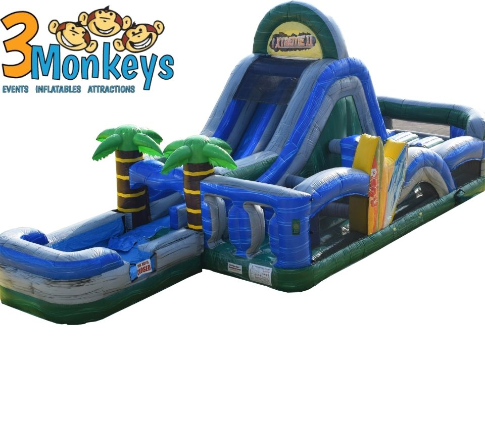 Tropical Water Obstacle Course Rental