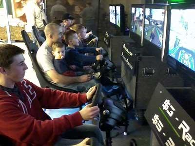 6 Seat Racing Simulator Rentals