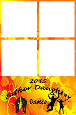 Father-Daughter Dance Sample of Photo Booth backgrounds