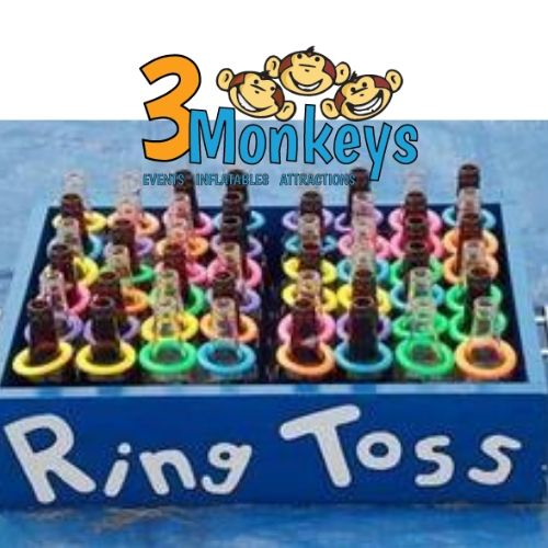 Bottle Ring Toss Game Rental