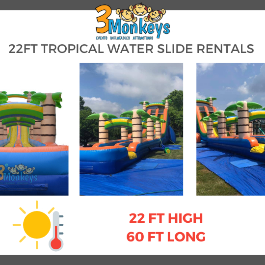 Lancaster waterslides for rent near me