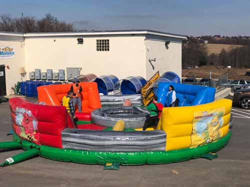 Hungry Hippo Interactive Inflatable Rental Akron
