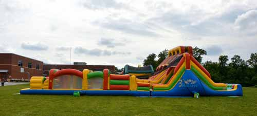 Akron Obstacle Course Rentals and Waterslide Rentals