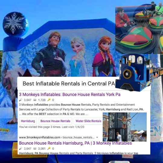Best Inflatable Rental in Central PA