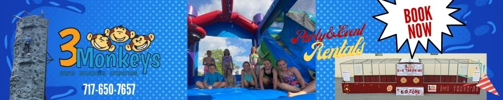 Lancaster, PA Bounce House Rentals and Water Slide Rentals Near Me
