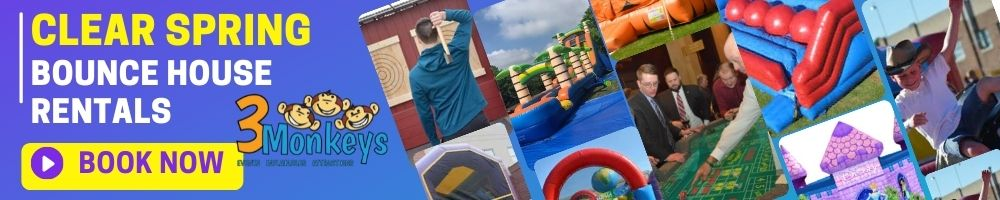 Clear Spring Bounce House Rentals near me