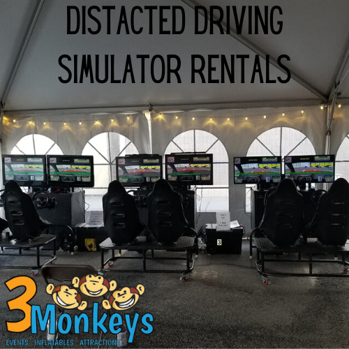 distracted Driving 6 seat simulator