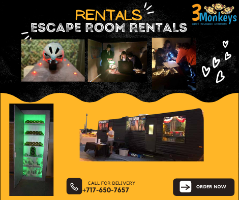Escape Room Rentals York near me