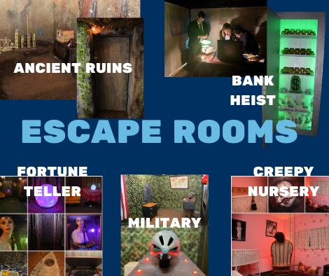 Graduation Escape Room Rentals near me