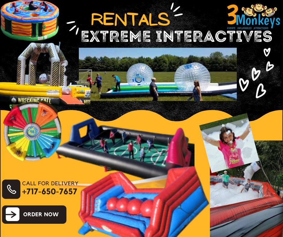 Extreme Interactive Rentals York near me