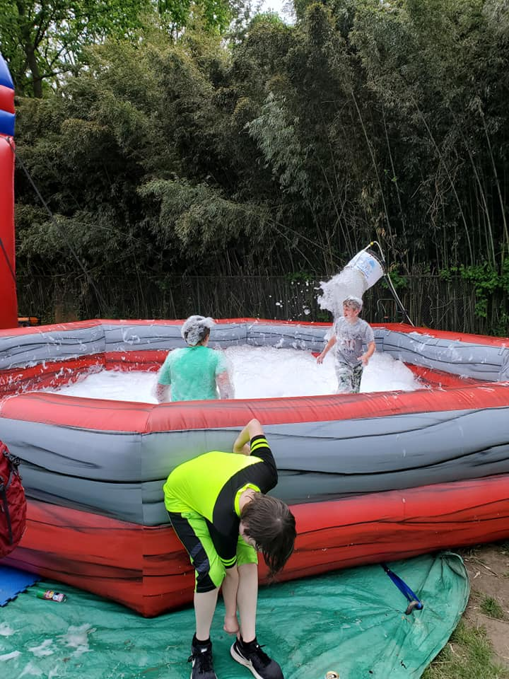 Foam Party for Graduation