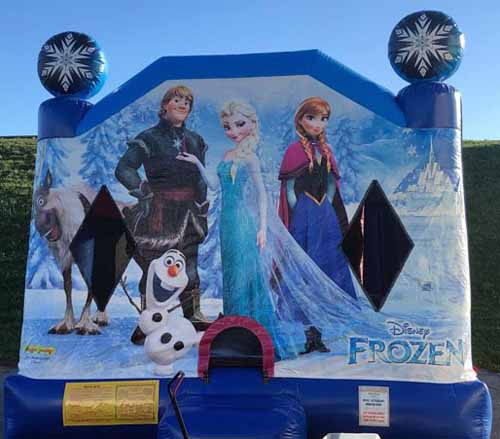 Frozen Bounce House Combo Rental Harrisburg
