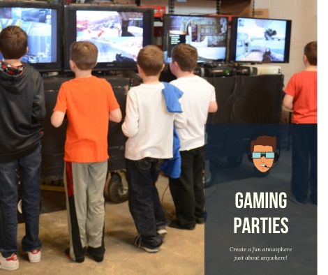 Gaming Party Rentals