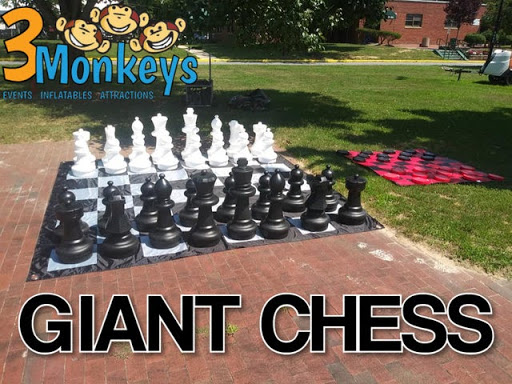 Giant Chess Rental near me